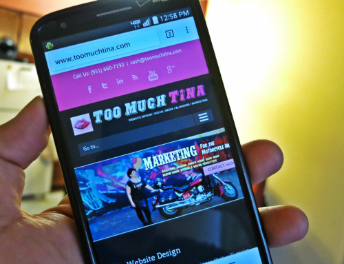 Too Much Tina Will Make Your Website Mobile Friendly