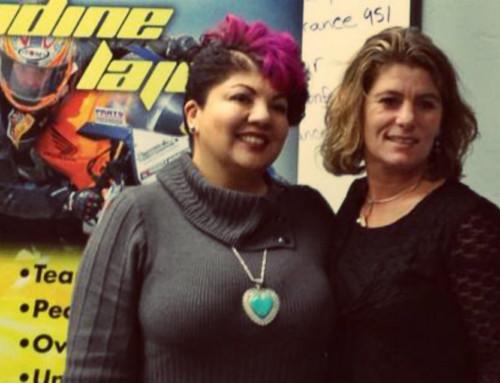 Nadine Lajoie Joins Up With Sash!