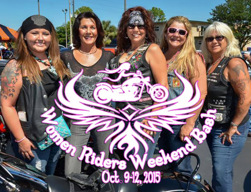 Women Riders Weekend Bash Set for October 9-12, 2015 in Crystal River, FL