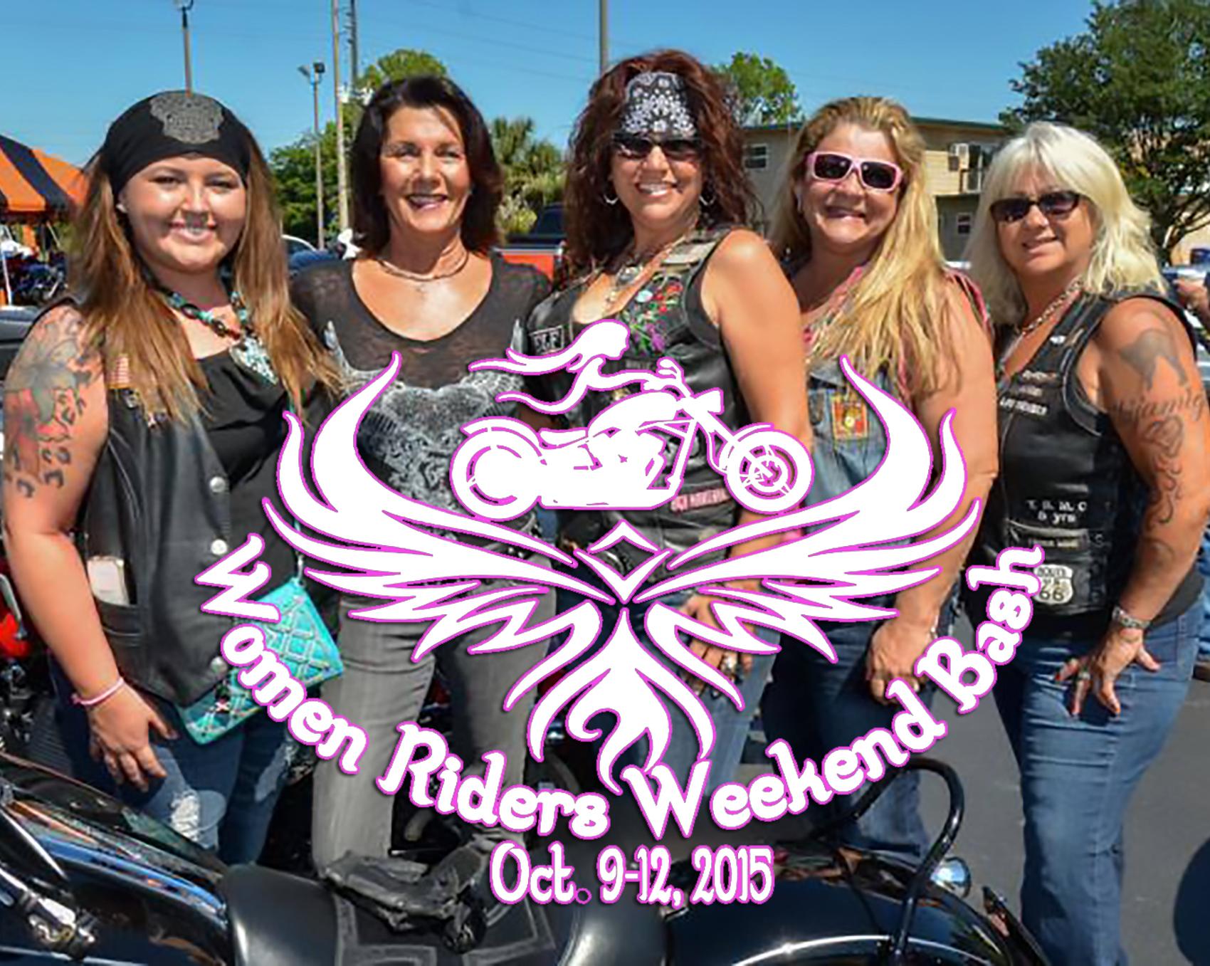 women riders weekend bash